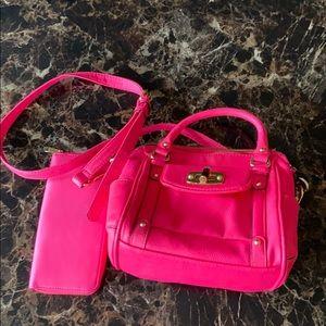 🌼Merona mini satchel and wallet